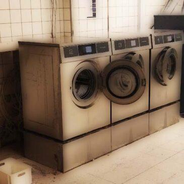 Tekniske problemer i vaskeriet