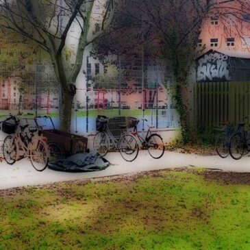 New bicycle parking